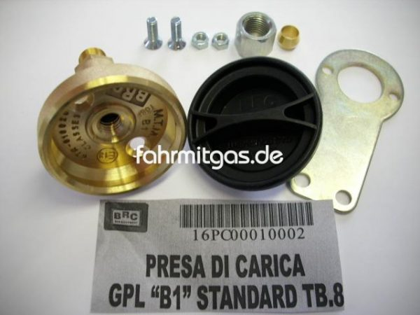Befüllanschluss BRC Dish Italien Standard 8mm