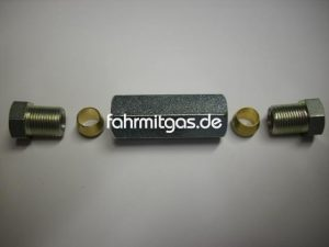 Gasleitungsverbinder 8mm