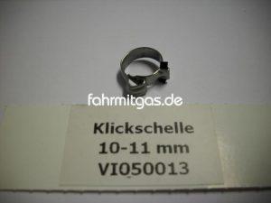 Klickschelle 10-11mm