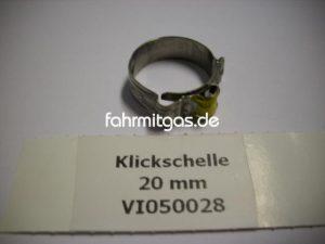 Klickschelle 20mm