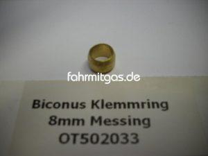 BRC Biconus Klemmring 8mm