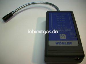 Wöhler Gasdetector