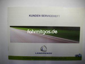 Serviceheft für LandiRenzo Anlagen