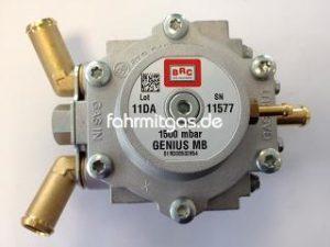 BRC Genius MB 1500 12mm Messing