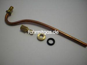 Einblasedüse Kupferrohr 180mm