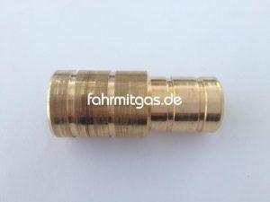 Wasserverbinder 16 auf 19mm (Metall)