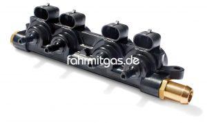 Landirenzo EVO 4 Zylinder Rail incl. Düsen (2.6)