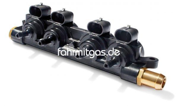 Landirenzo EVO 4 Zylinder Rail incl. Düsen (2.4)