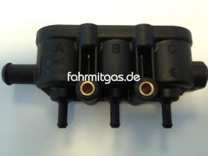 Landirenzo MED Railgehäuse 3Zyl. mit Sensoraufnahme