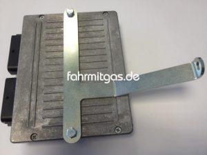 Halter BRC S56/FlySF/P&D Steuergerät, verzinkt, ca. 2.5mm stark