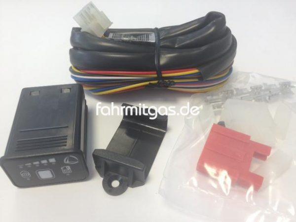 Landirenzo Umschalter 094M mit Gehäuse und Kabelsatz