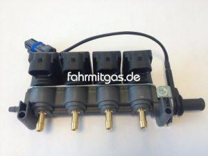 LPG Autogas Tartarini Einspritzrail EVO 08G  EVO 07 4-Zylinder-Rail
