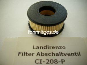 Landirenzo Gasfilter für Abschaltventil Verdampfer IG1/LiO2
