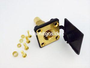 Befüllanschluss HK-flach gerade, ohne ACME Adapter