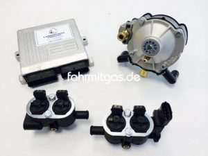 Landirenzo Omegas Boxer 4 Zyl. 75-110KW (LiO2/schwarz)