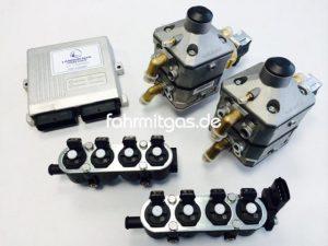 Landirenzo Omegas 8 Zyl. 200-320KW (2xIG1/weiss)
