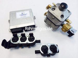 Landirenzo Omegas 5 Zyl. 85-130KW (IG1/schwarz)