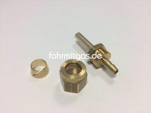 Faro Fitting für 8mm Flexleitung komplett