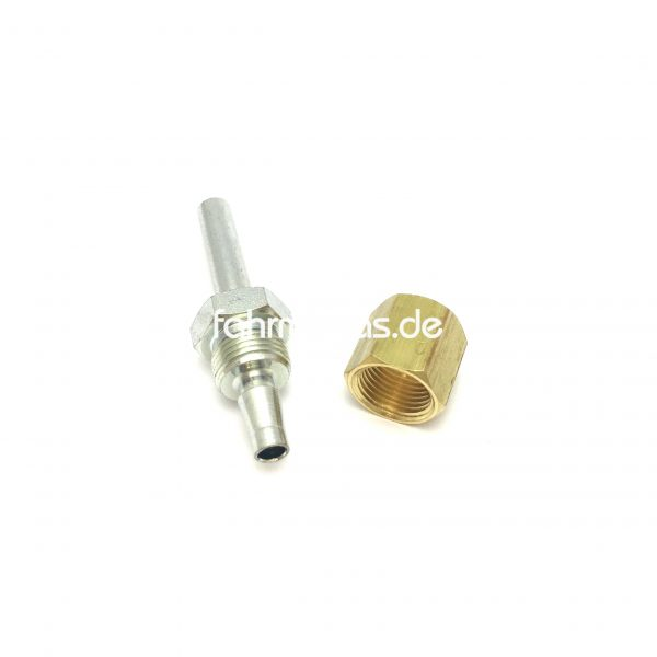 Parker Fitting Gerade (2tlg.) 8LPG3 (6mm Leitung) standard